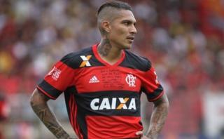 Con Guerrero: Flamengo perdió 2-1 contra el Internacional