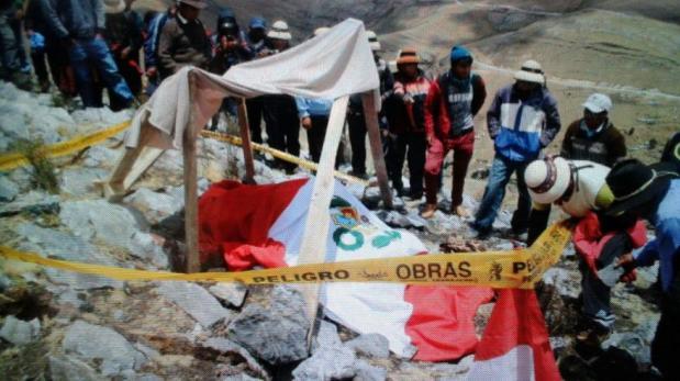 Las Bambas: levantan cuerpo de comunero fallecido el viernes