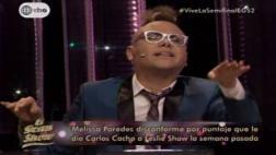 """""""El gran show"""": Cacho responde sobre presunto favoritismo"""