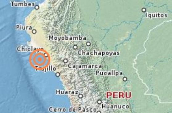 Chiclayo: sismo de 5,3 grados se registró en Pimentel