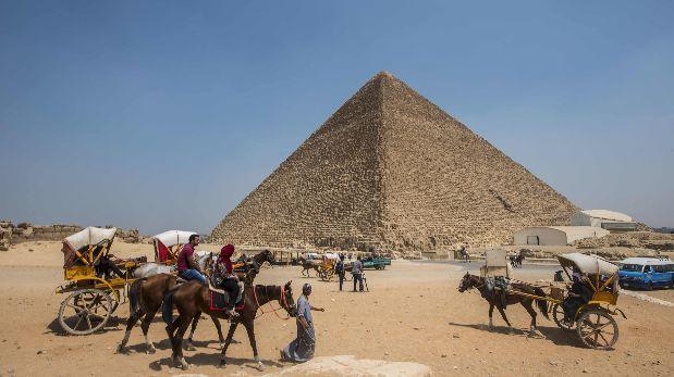 Egipto: Detectan cavidades desconocidas en la pirámide de Keops