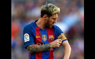 Lionel Messi y el curioso motivo por el que fue amonestado
