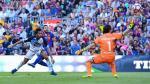 Barcelona goleó en el Camp Nou en la vuelta de Lionel Messi - Noticias de liga española