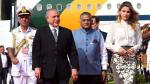 Putin, Temer y Zuma llegan a la India para la cumbre BRICS - Noticias de jacob zuma