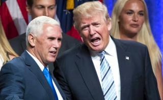 Compañero de fórmula de Trump lo contradice y acusa a Rusia