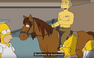 Los Simpson se meten en la campaña y hablan de Trump y Putin