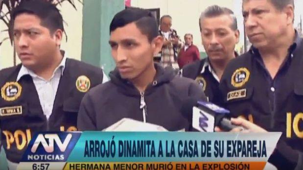 El Agustino: Cayó sujeto acusado de matar a niña con explosivo