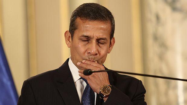 Congreso aprobó conformar comisión que investigará gobierno de Ollanta Humala