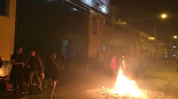 La Victoria: cinco serenos heridos tras gresca con comerciantes