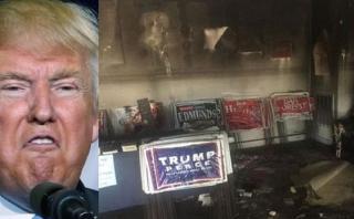 Incendian oficina del Partido Republicano en Carolina del Norte