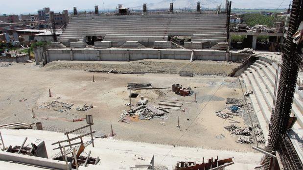 Las instalaciones para Bolivarianos que sucumbieron al olvido