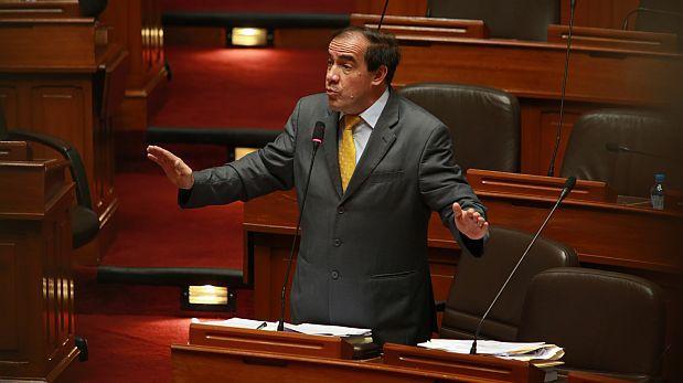 Lescano: Demanda contra ley antitránsfuga se presenta el jueves