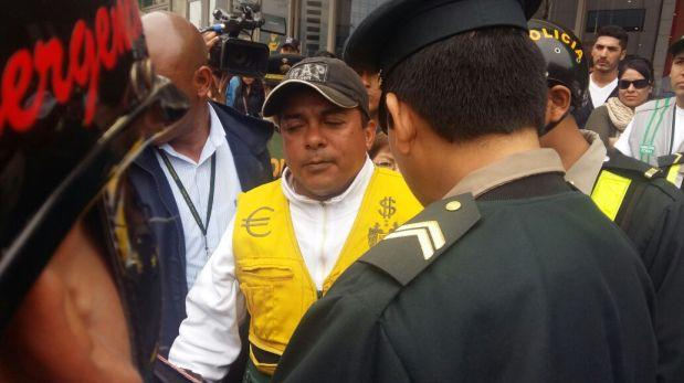 San Isidro: detienen a cambista informal en Rivera Navarrete