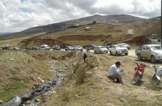 Las Bambas: velan a comunero en vía de acceso a la minera