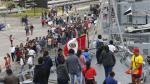 Miles disfrutaron de recorrido por la Base Naval del Callao - Noticias de policia naval