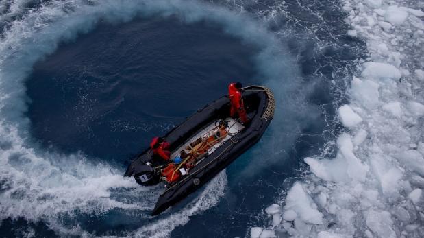 Científicos circunnavegarán la Antártida por primera vez