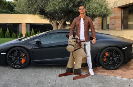 Cristiano Ronaldo es blanco de memes por foto en Instagram