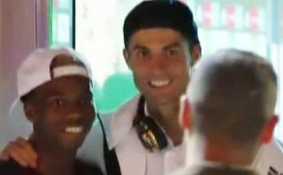 Cristiano: jugador bético lo esperó 20 minutos para conocerlo