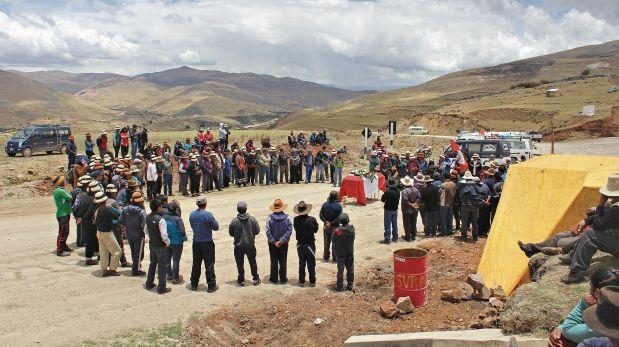 Paro en Las Bambas: comuneros demandan consulta previa para vía
