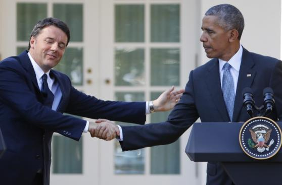 Obama recibe a Matteo Renzi y destaca sus
