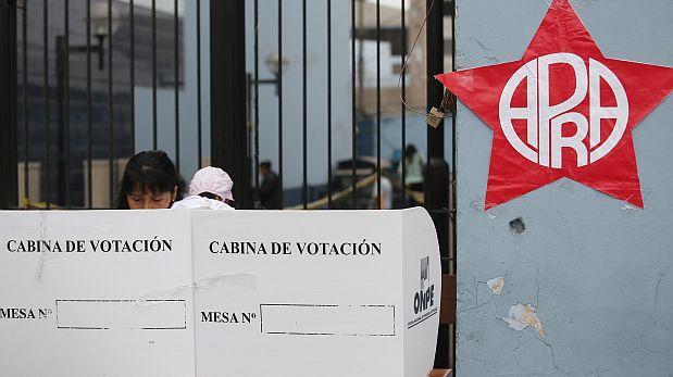 Apra: elecciones internas serían pospuestas por 15 días