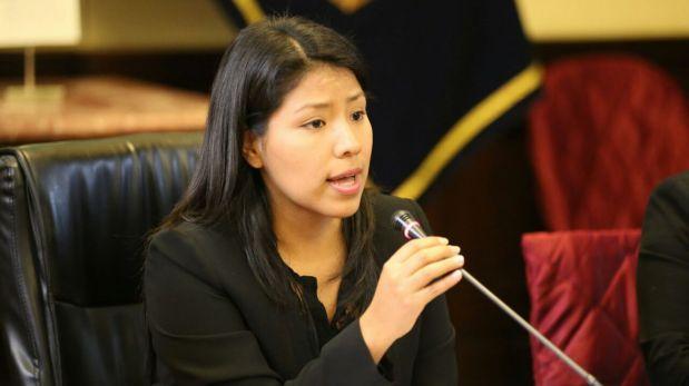 Huilca descartó división en movimiento de Verónika Mendoza