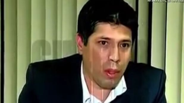 Sifuentes deberá de ratificar ante la fiscalía que grabó las dos conversaciones que tuvo con el ex asesor Moreno (Captura de TV)