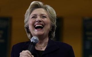 Clinton apunta al Congreso en la recta final de su campaña