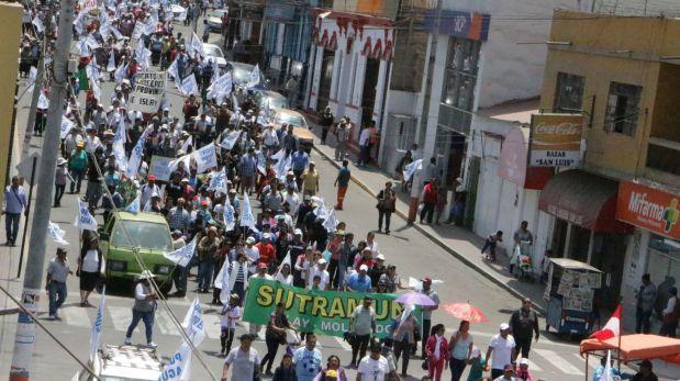 Valle de Tambo: anuncian paro en demanda de represa Paltuture