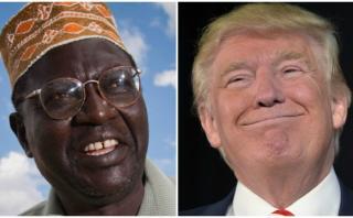 Trump invitó al medio hermano de Obama al debate presidencial