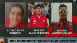 El Agustino: 3 bomberos desaparecidos tras incendio de almacén