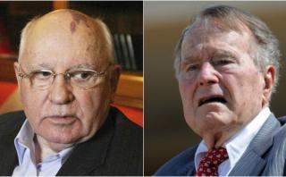 Gorbachov y Bush buscan evitar una nueva Guerra Fría