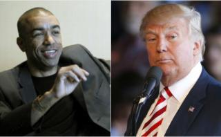 Hermanastros de Obama están divididos por invitación de Trump