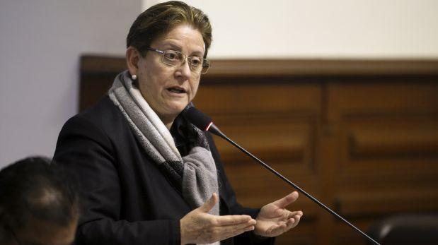 """Lourdes Alcorta: """"A mí nadie me ha pedido plata por una curul"""""""