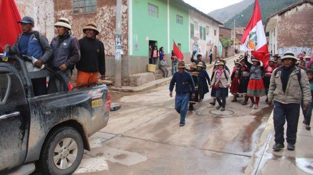 Las Bambas: comisión de Alto Nivel cancela llegada a Cotabambas