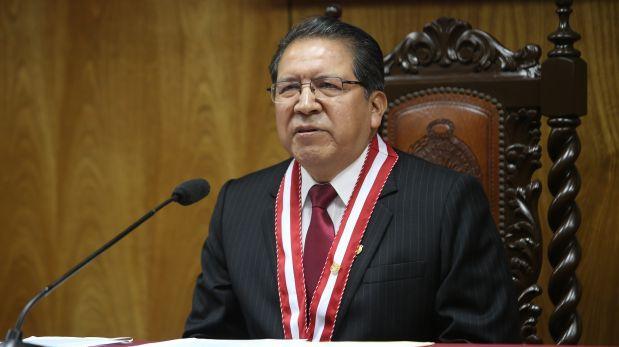 Fiscal de la Nación saluda medidas de PPK contra la corrupción