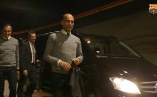 Guardiola volvió a Barcelona: así vivió su vuelta al Camp Nou