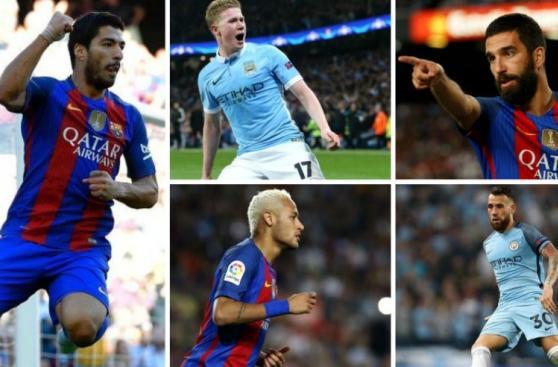 Barcelona vs. City: el millonario 11 de sus últimos fichajes