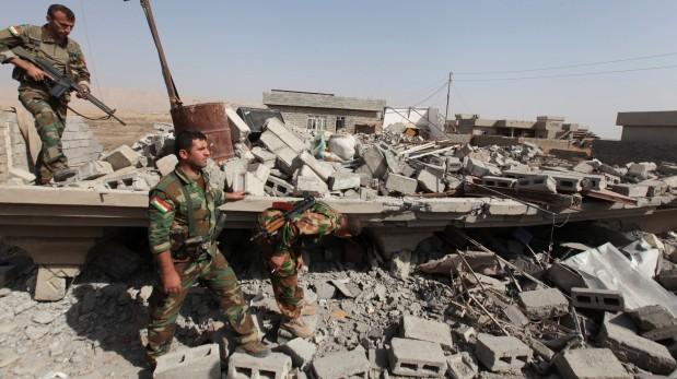 Fuerzas del Ejército iraquí avanzan hacia Mosul. (Reuters)