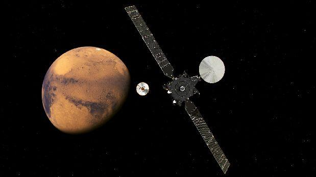 A la espera: Schiaparelli no confirma todavía llegada a Marte