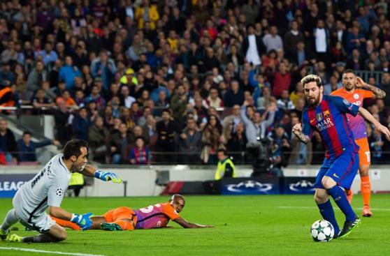 CUADROxCUADRO: el golazo de Lionel Messi al Manchester City
