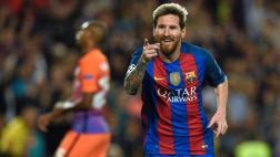 Lionel Messi anotó hat-trick ante el Manchester City [VIDEO]