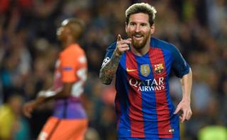 Lionel Messi anotó hat-trick ante el Manchester City [VIDEO]
