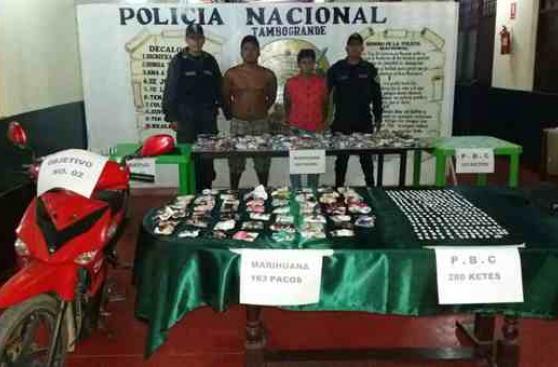 Piura: policía decomisa más de 300 kilos de marihuana