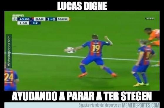 Los memes tras goleada 4-0 del Barcelona en Facebook y Twitter