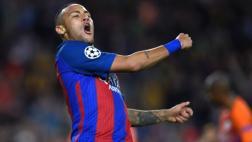 Neymar anotó de manera formidable y puso el 4-0 ante el City