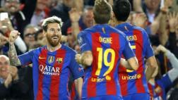 Barcelona goleó 4-0 a Manchester City con 3 goles de Messi