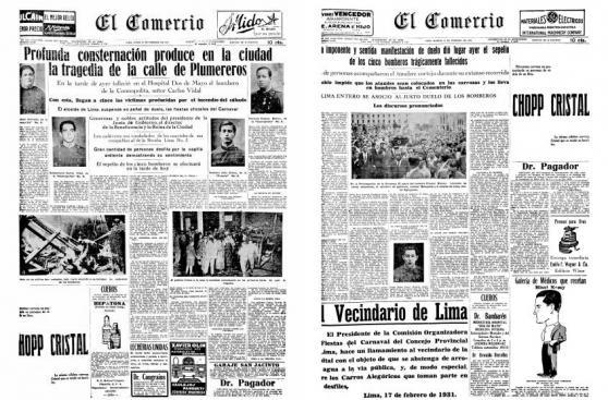El Agustino: bomberos no sufrían tragedia similar desde 1931
