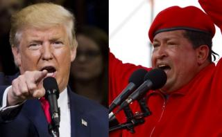 Donald Trump fue comparado así con Hugo Chávez [VIDEO]