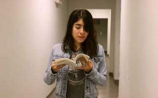 """Katherine Medina nos lee algunos poemas de """"Mínima celeste"""""""